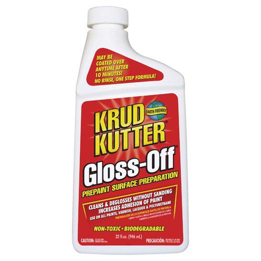 Caulk & Gloss Removers