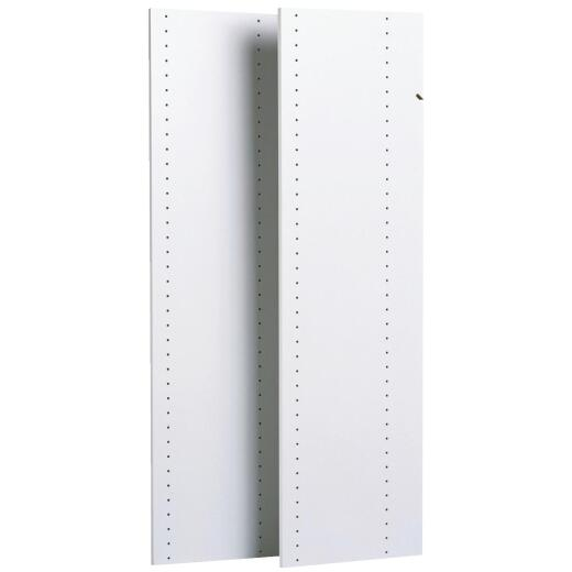 Easy Track 48 In. Closet Vertical Panel (2-Count)