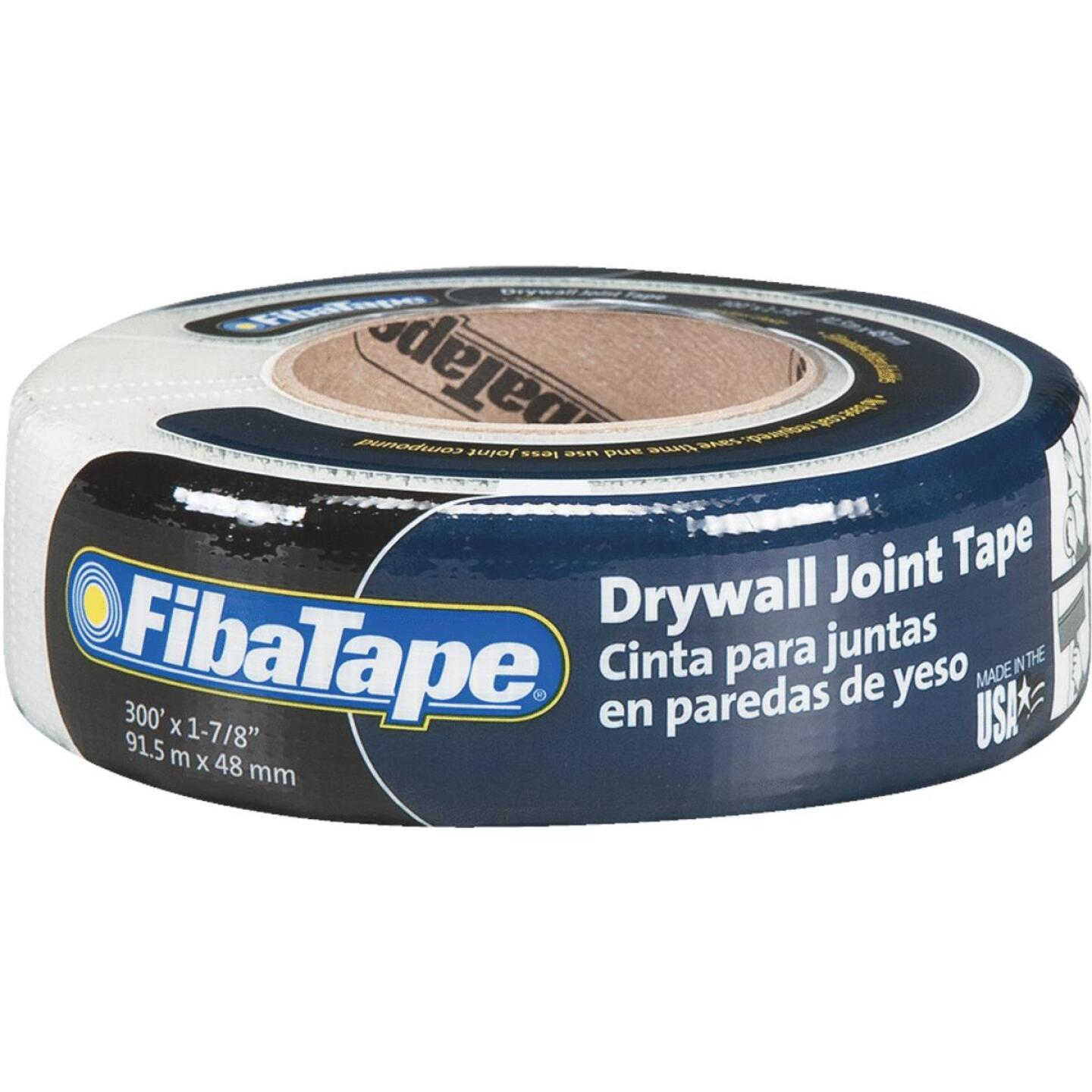 FibaTape 1-7/8 In. x 300 Ft. White Self-Adhesive Joint Drywall Tape Image 1