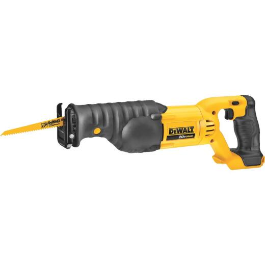 DeWalt 20 Volt MAX Lithium-Ion Cordless Reciprocating Saw (Bare Tool)