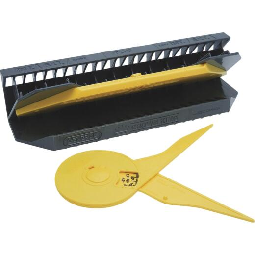 General Tools E-Z Pro Crown King Crown Mold Jig with Protractor