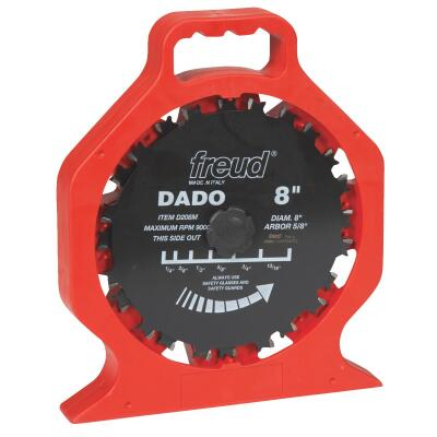 Freud 8 In. Pro Dado Circular Saw Blade Set