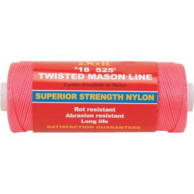 Do it 525 Ft. Fluorescent Pink Twisted Nylon Mason Line