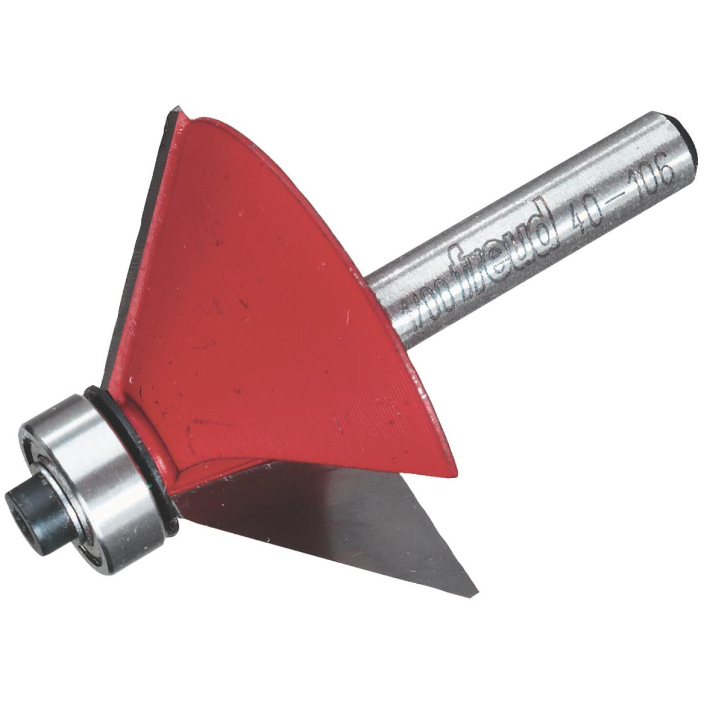 Freud Carbide 5/8 In. Chamfer Bit with Bearing Pilot Image 1