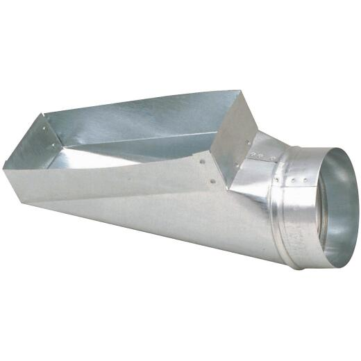 Imperial 30 Ga. 4 In. x 12 In. x 6 In. Galvanized End Boot