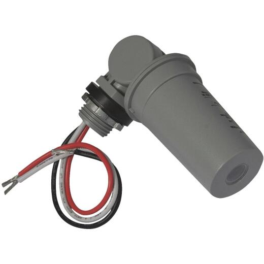Hubbell Hard Wire Gray Photocell Lamp Control