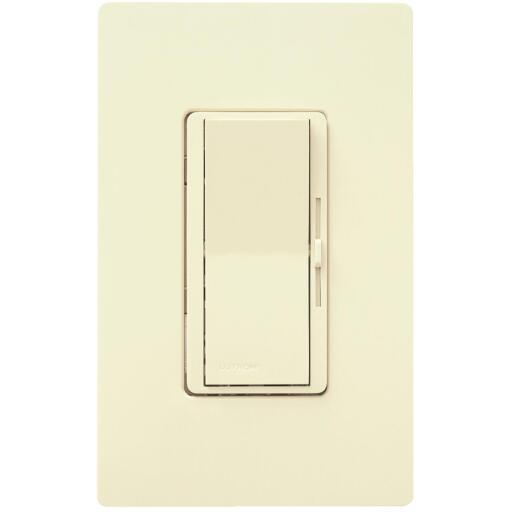 Lutron Diva Incandescent Ivory Slide Dimmer Switch