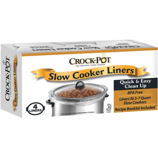 Crock-Pot Slow Cooker Liners (4-Pack)