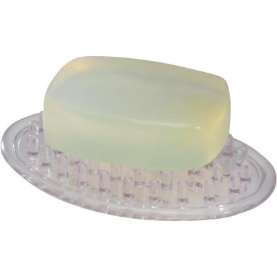 InterDesign Clear Soap Dish