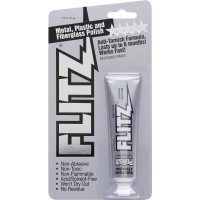 Flitz 1.76 Oz. Metal, Plastic & Fiberglass Paste Polish