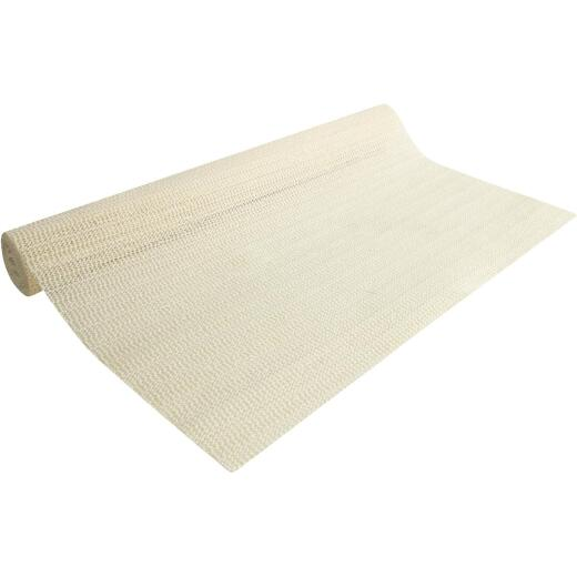 Con-Tact 20 In. x 5 Ft. Almond Beaded Grip Non-Adhesive Shelf Liner