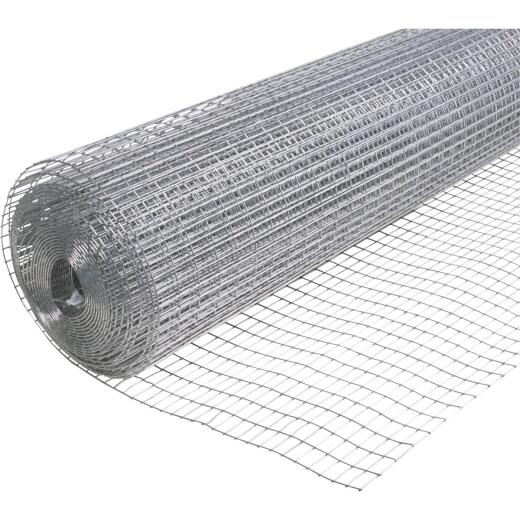 Do it Utility 36 In. H. x 25 Ft. L. (1x1/2) Galvanized Welded Wire Fence