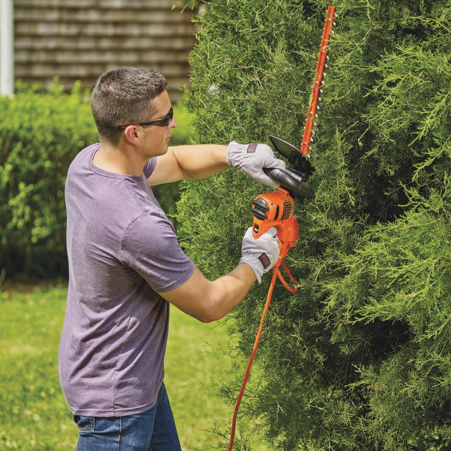 Black & Decker 18 In. 3.5-Amp Corded Electric Hedge Trimmer Image 3