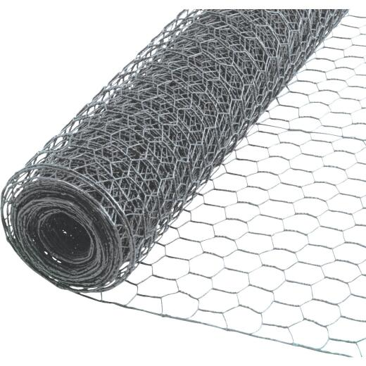 1/2 In. x 36 In. H. x 25 Ft. L. Hexagonal Wire Poultry Netting