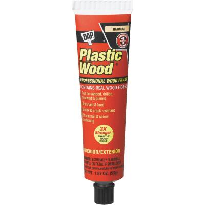 DAP Plastic Wood 1.8 Oz. Natural Solvent Professional Wood Filler